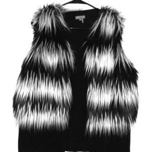 Vince Camuto Faux fur vest
